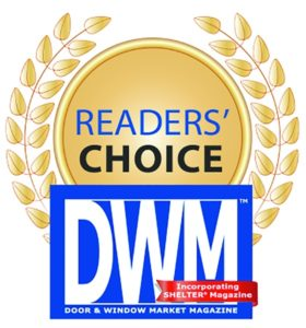 Door & Window Mag Readers Choice Award