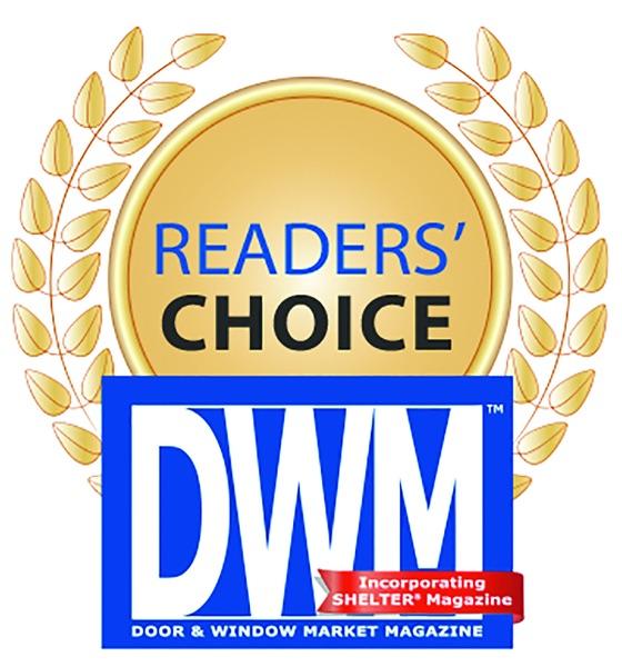 door window mag readers choice award roto north america. Black Bedroom Furniture Sets. Home Design Ideas