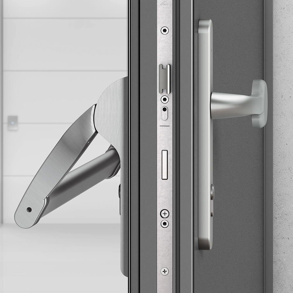 Roto P600 Door Lock Hardware